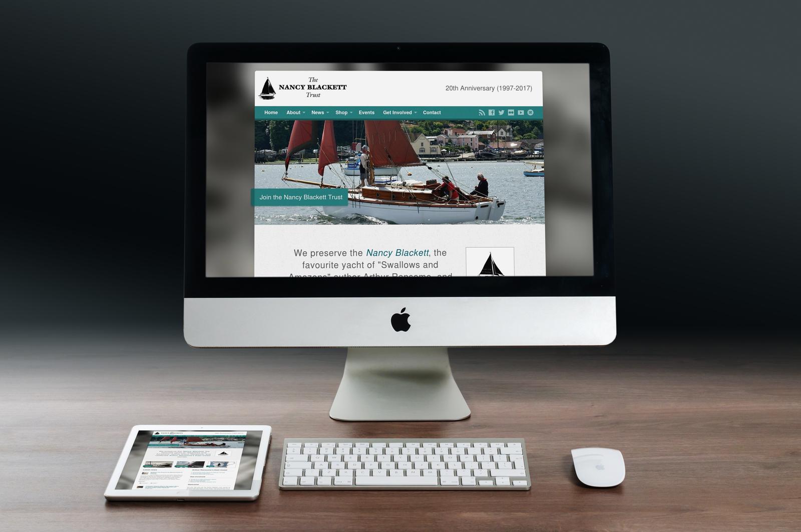 Portfolio item - Charity website Image