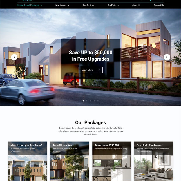 Home service site Image