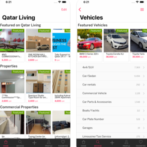 Qatar Living App Image